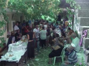 Γιορτή σούμας στα Λεπτόποδα Χίου